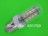 5 PCS E27  36 SMD 5050 LED Lamp Corn Light Bulb Cap White / Warm White (Free shipping/quality assurance 2 years)