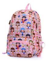 fashion Korean VIVISECRET cartoon shoulders bag  multifunctional waterproof light weight strong schoolbag for school and travel