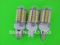 E14 220V Chip 69 LED Cool White Light Bulb Lamp 220V 12W ( High Brightness ) lights for home 5050 SMD
