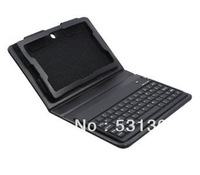 HIGH QUALITY  Wireless Bluetooth Keyboard Leather Case Cover with Stand for  Playbook 7 inch - Free Shipping!
