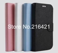 4 Colors New Folio PU Leather Magnetic Case Skin Cover Pouch Stand for Lenovo A706 Perfect Fit 10Pcs/Lot Free Shipping