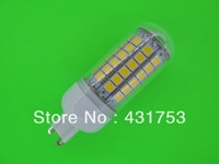 NEW  G9 5050 69LED Corn Bulb Light (1100 lumens)  LED Lamp 200V-240V 360 degree white / warm white ( high brightness )
