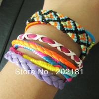 Free Shipping Retail/Wholesale 3pcs/lot  2013 Fashion Brazilian Style Colorful Magnetic Hipanema Bracelet