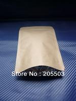 Brown Kraft Paper bag ,stand-up bag,zip bag120*195mm (accept customization )3200pcs/carton