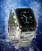 Waterproof watch mobile phones W818+ 1.5inch touch screen +mp3+video+audio+Camera watch mobile free shipping Wholesale