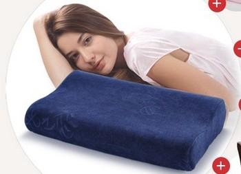 Free shipping travesseiro 50*30cm soft almofadas memory foam pillow health care pillow for neck & head sleeping pad bedding set