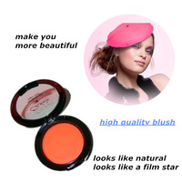 Free Shipping Good Quality Mineralize Makeup Blush/Blusher Powder Orange/Red/Blue/Pink
