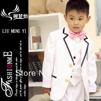 Free shipping Hot sale wedding suits for baby boys 7 sets  2-10 age Can be customized Blazers Suits