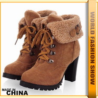 Fashion ankle half boots shoes for Women Free Shipping sexy high heels platform Snow boots XB037 big size 34-43