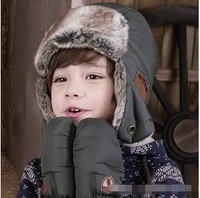 2014 Top Fasion New Arrival Freeshipping Solid Skullies Beanies Gorro Korean Version of Labeling Children Lei Feng Cap Ch371