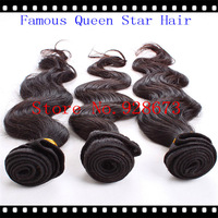 Queen Star hair products cheap peruvian remy hair 3pcs lot peruvian body wave 3 bundles peruvian virgin hair DHL free shipping