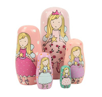 1SET/LOT,Matryoshka Doll,Ethnic Dolls,Fashion doll,Home decoration,Wood crafts,Birthday gifts,Christmas ornament,Freeshipping.