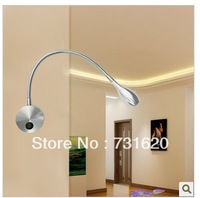 Engergy-saving  3W LED Wall Light Free Shipping Reading Lamp Wall Mounted For Study Room Bulbs Included