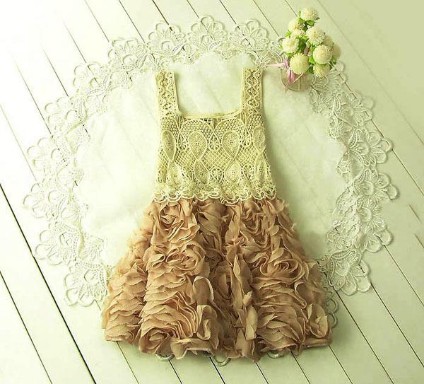 67% Off Cheap Kids Girls Dress Summer Girl Dress Lace Princess Children Clothes for Summer Dress for girl Shopping Festival(China (Mainland))