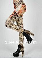 New Arrival ML7530 Women Stretch Seamless Fashion Women Leggings Leopard Printed Sexy Leggings