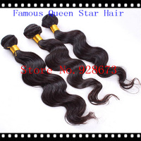 "3pcs/lot,malaysian virgin hair body wave hair extension,unprocessed hair,natural color,12""-28""Free shipping!"