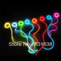 Flexible neon wire EL wire neon 2M * 2.3MM with car cigarette lighter plug - Free shipping ~ GGG 10 colors options