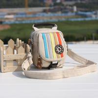 New 2013 Fashion Canvas Waist Bag  Women's Men's  Digital Messenger Casual Travel Shoulder Bag Free Shipping