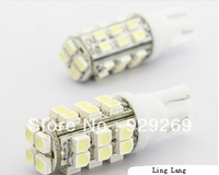 Free shipping Car T10 1210 28SMD white showing the wide lights (DC 12V/Pair)