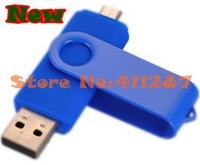 OTG micro usb Smart Phone USB Flash Drives thumb pendrive memory stick u disk for Samsung 2G 4G 8G 16G 32G Free shipping