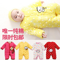 2014 winter Baby rompers long sleeve cotton baby infant sets carters cartoon Animal newborn baby clothing 9