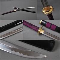 Chinese Martial Swords Zhanma Dao High Carbon Steel Broadsword Sabre Sharp Blade