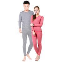 Women's thermal underwear thermal underwear set plus velvet thickening male lovers set