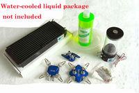 New Best 120p & 240p graphics card northbridge Full Metal CPU GPU water cooling head water set water cooling radiator set