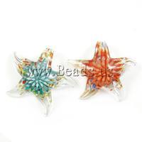 12pcs/lot Wholesale DIY Jewelry Making Flower Lampwork Pendants, DIY Necklaces Pendants Fashion Charms