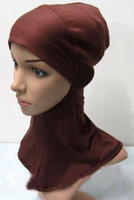 100% Cotton Convenient And Cosy Muslim Inner Hats,Islamic Hijab,Fashion Scarfs,Arabic Hijab TT0422, Free Shipping