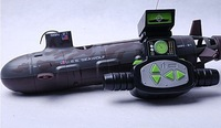 electric RC submarine USS seawolf  remote control ship toy children RC toy gift free shipping