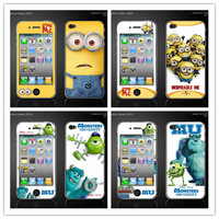 for iphone 4s 4 sticker various yellow man monster Despicable Me iphone4s iphone4 cell phone screen protect skin cover film