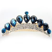 Free shipping 2pcs/lot  2015 New arrival Beautiful Rhinestone women hair barrette Classical women's hair accessorie Best jewelry