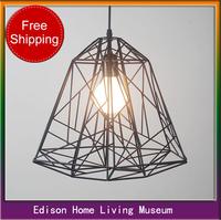 Creative Arts Diamond Bar modern minimalist living room lamps, wrought iron bird cage chandelier lighting Restaurant