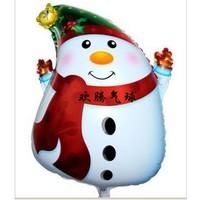Merry Christmas Snowman balloons, Christmas balloons, Christmas snowman balloon 66 * 41CM free shipping