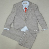 2013 New Fashion high quality 100%cotton six pcs formal clothes clothes for boys free shipping