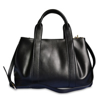 Hot Selling 2013 New Leather Handbag Women Fashion Casual  Bag Female Bags Genuine Free Shipping Red/black/silver/brown