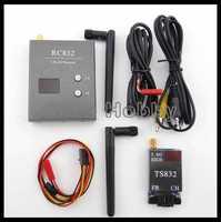 FPV 5.8G 32CH 600mW A/V Transmitter/Receiver System TS832 + RC832 RP-SMA