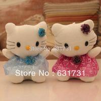 Kawaii Plush Free shipping!!Creative Dolls  Hello  Kitty Toy  Plush Doll  Soft Stuffed Doll Gift For Kids Birthday Gift