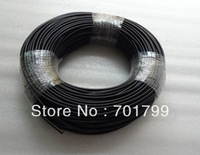 E-pof-3;100m Solid Core black PVC coating PMMA optical fiber,inne diameter:3mm,outer diameter:4.5mm