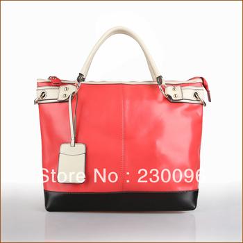 2013 hot-selling genuine leather metal buckle circusy card case decoration women's handbag casual all-match women's ol handbag