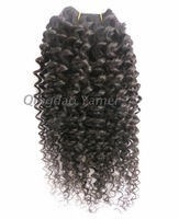 "Free shipping 2014 new hair extension queen hair product malaysian virgin Kinky curly hair loose curly 10-28"" 3pcs/lot"