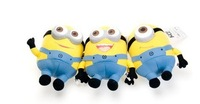 25CM 3D Despicable ME Movie Plush Toy 9Inch Minion Jorge Stewart Dave NWT with tags Children Gift