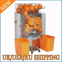 ORANGE SQUEEZER COMMERCIAL AUTO FEED OF STAINLESS STEEL AND HIGH GRADE PLASTIC WEAR PC SQUEEZE 20-22 ORANGES PER MINS