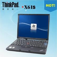 Used laptops lenovo Thinkpad dual-core netbook X61S  12 inch T7100 1.8G 2G/120G ultrathin  wireless Wifi Windows xp