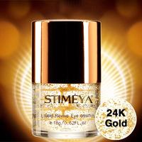 Free shipping Brand 24K gold eye cream repairing anti wrinkle Anti-Puffiness Dark Circle Anti-Aging collagen Moisturizing 18g