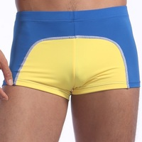 Free shipping quality men's swim briefs trunk  mens swimwear shorts swimwear boxer shorts swimsuit S M L