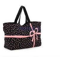 K58 new arrival summer very cute Hello Kitty Pretty Black Super cute butterfly seed cotton bag with convenience