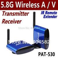 Free shipping 5.8G Wireless AV TV Audio Video Sender Transmitter Receiver Remoter