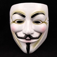 guy fawkes V,vendetta team pink blood scar masquerade masks Halloween carnival Mask Party mask,environmental protection PVC  B
